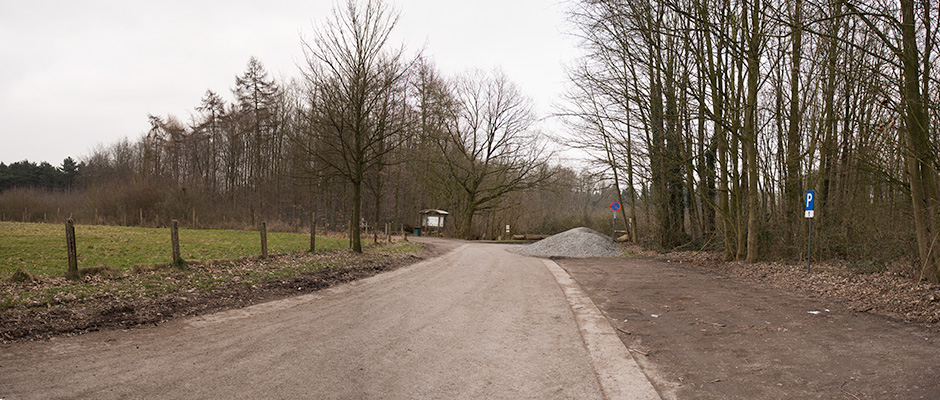 hallerbos parking 1 hogebermweg